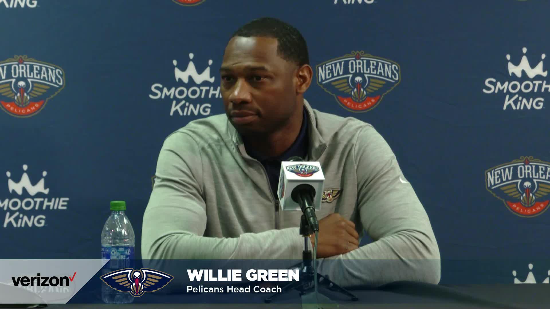 Willie Green on season preparations | Pelicans Media Day 2021 Interviews