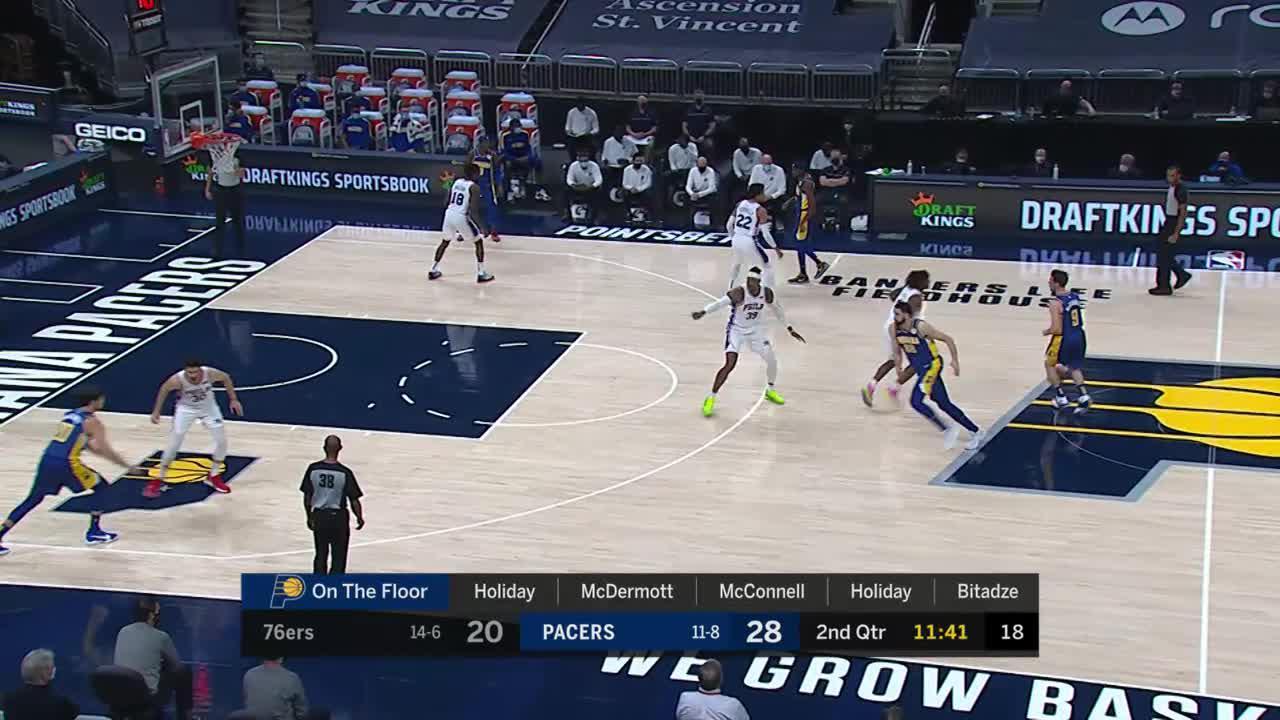 Excellent Ball Movement