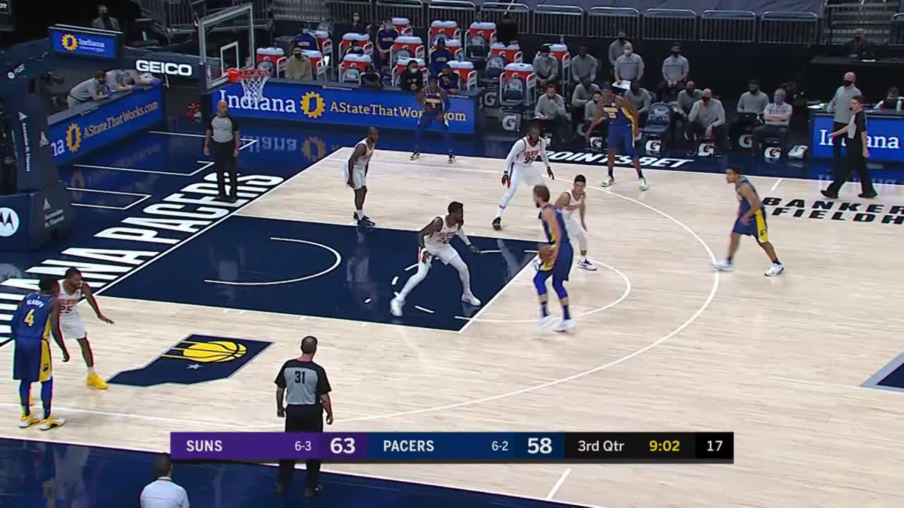 Sabonis in the Paint