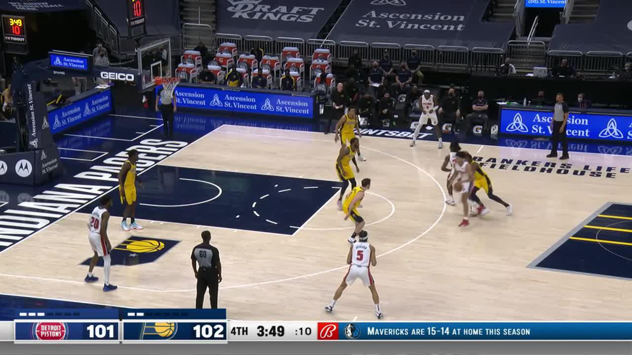 McConnell Clutch Steal