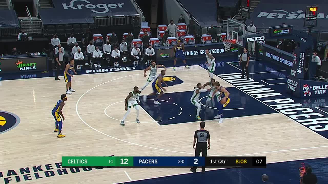 Turner Throws It Down