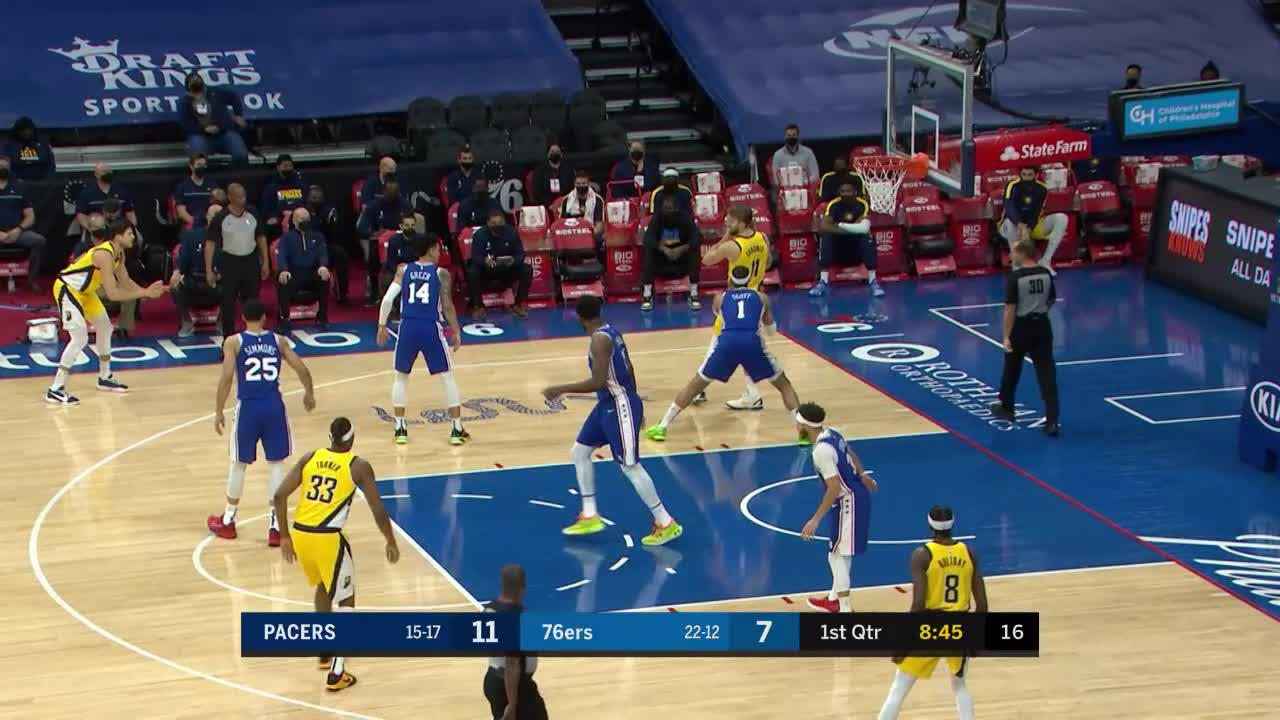 McDermott Spots Up For Three