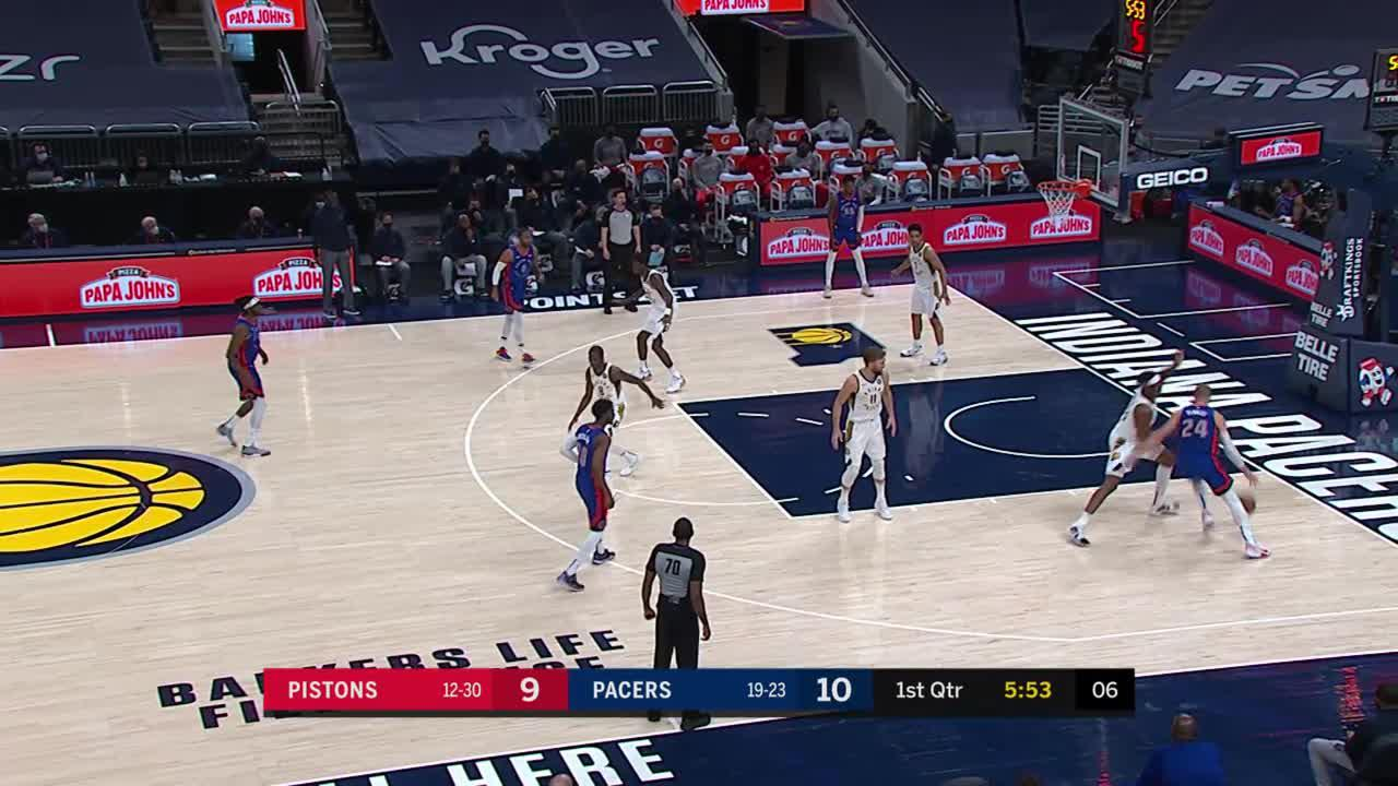 Sabonis Scores off the Turnover
