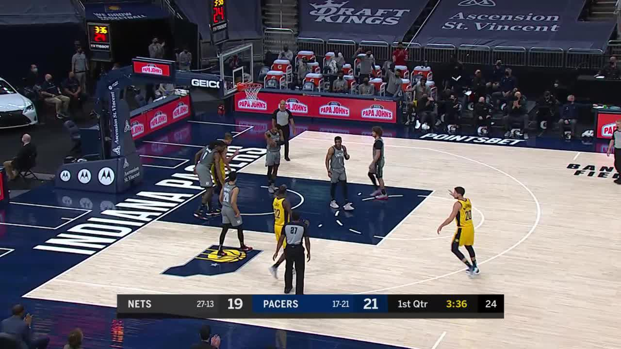 LeVert to Sabonis For the And One