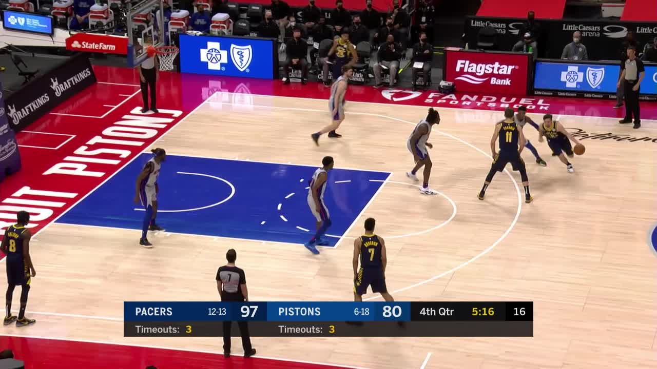 Pacers Pouring It On