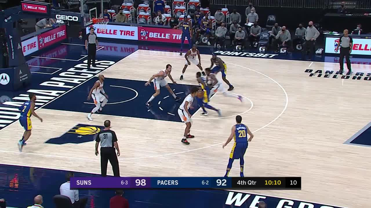 Sumner with the Tricky Layup