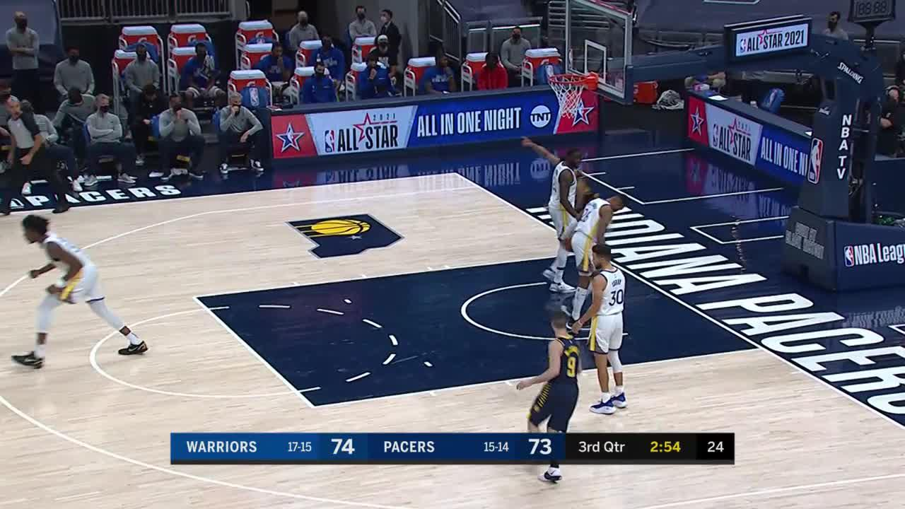 Turner With the Perfect Pass to Brogdon