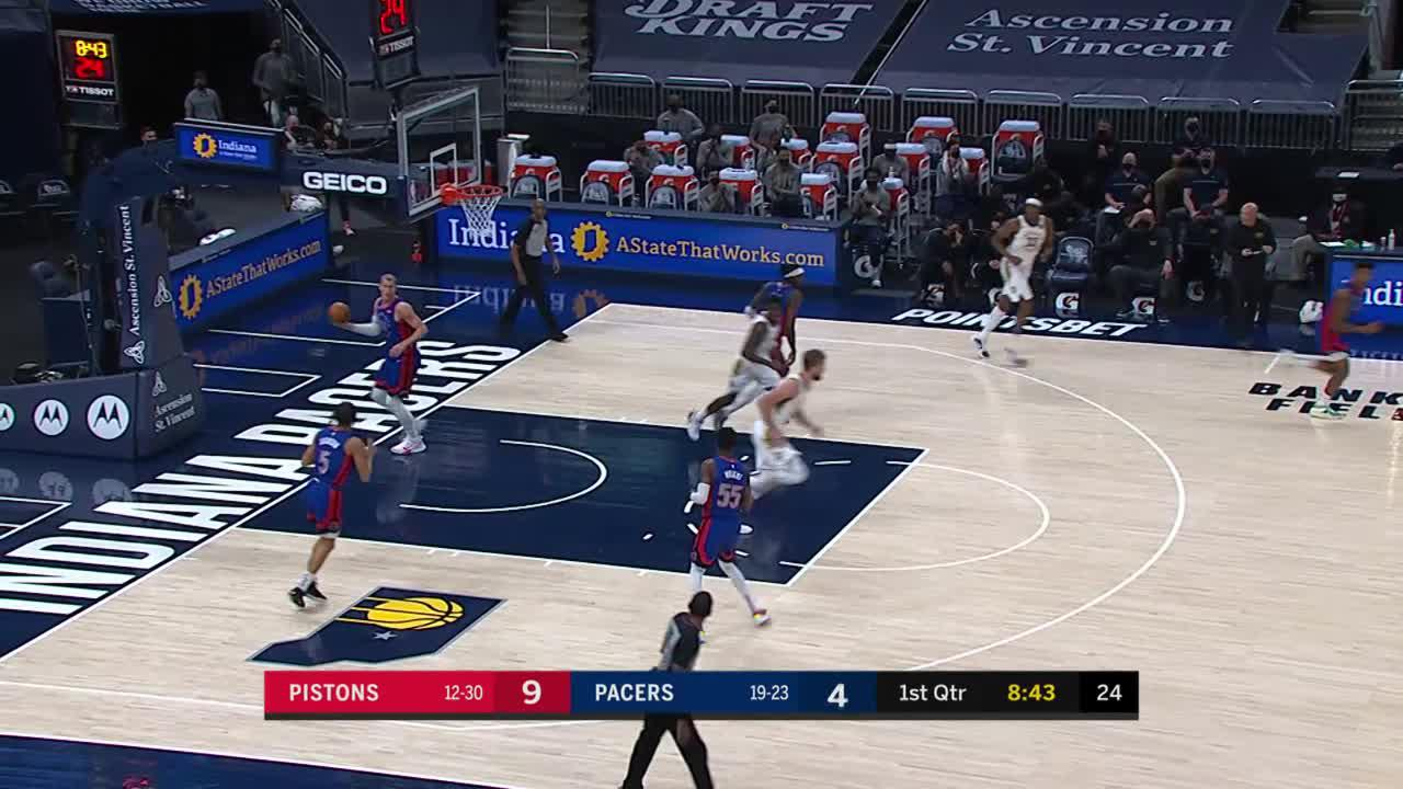 LeVert Drives to the Rim