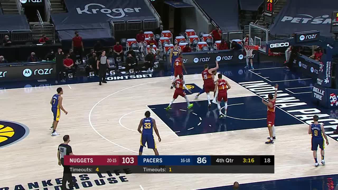 Turner Buries a Three