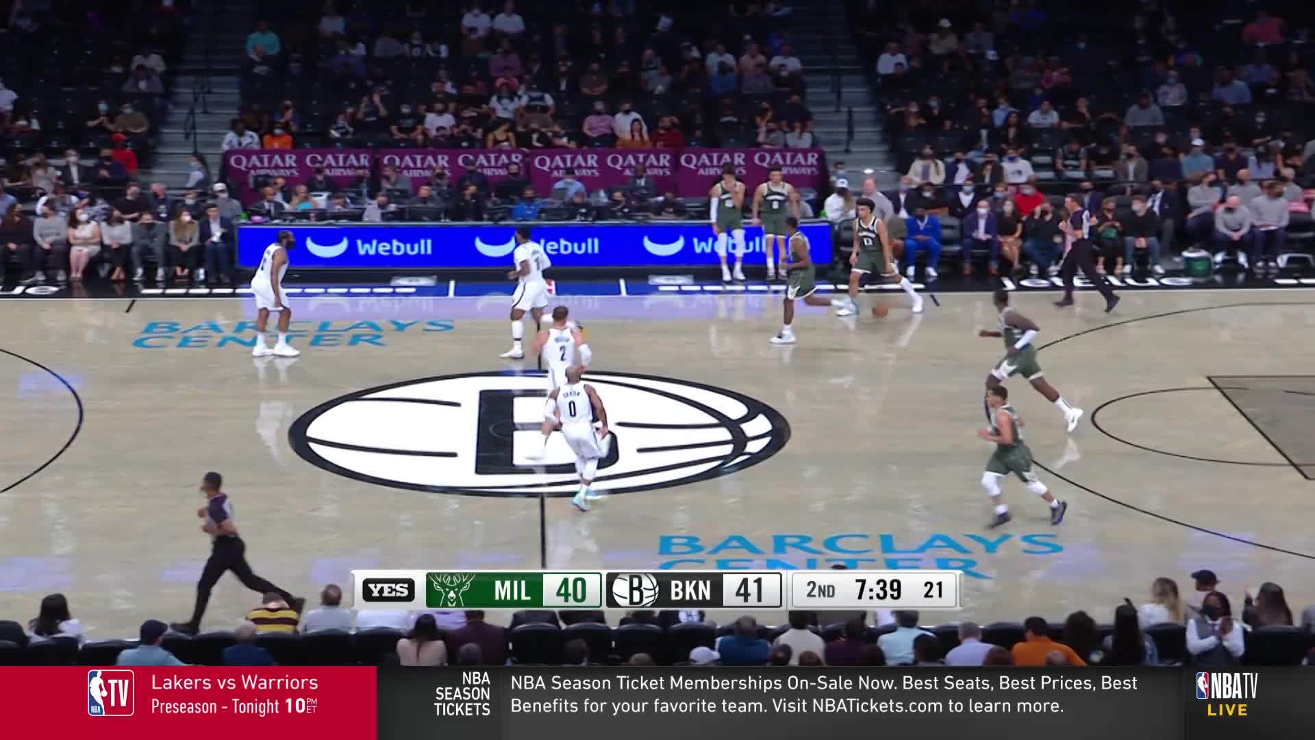 Nwora Gives The Bucks The Lead