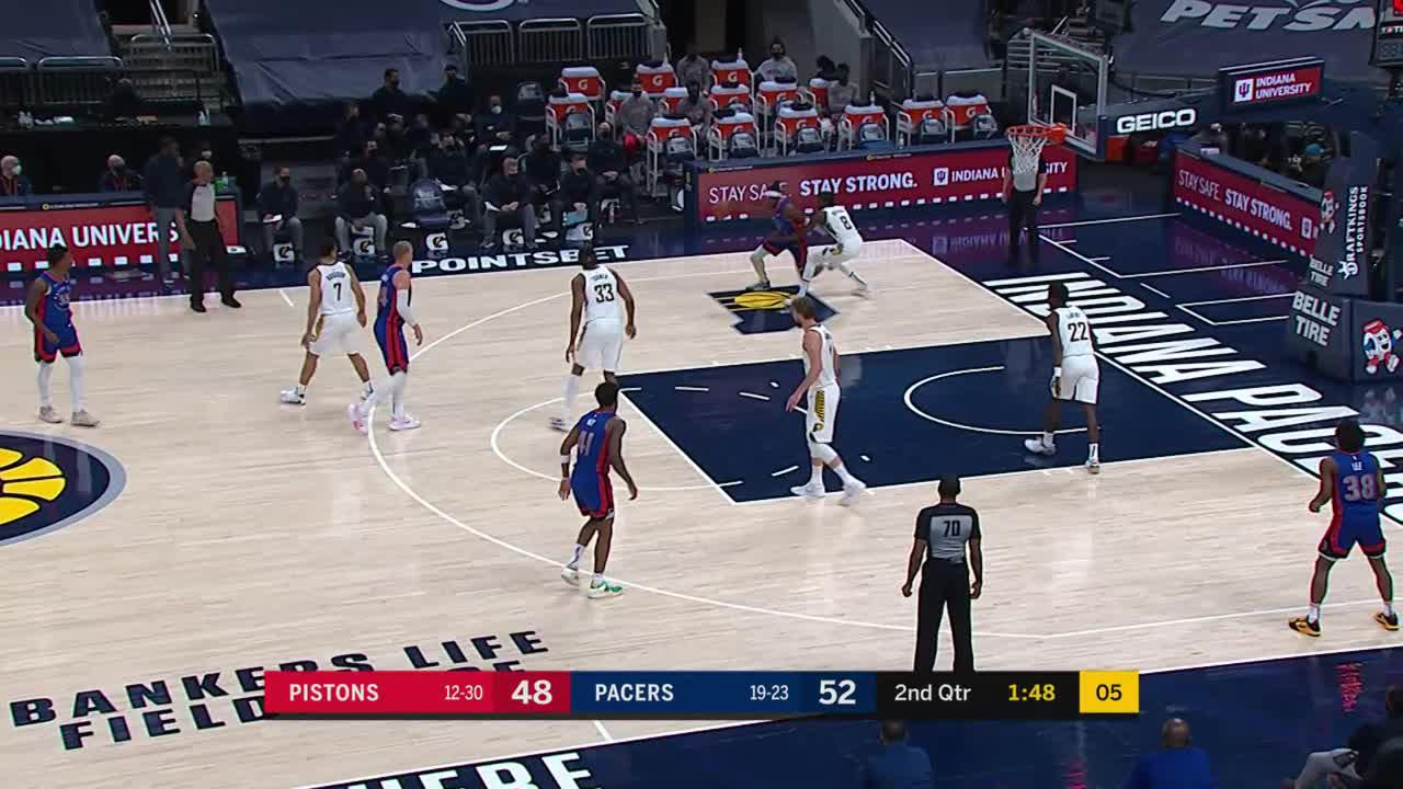 LeVert Gets Out on the Run