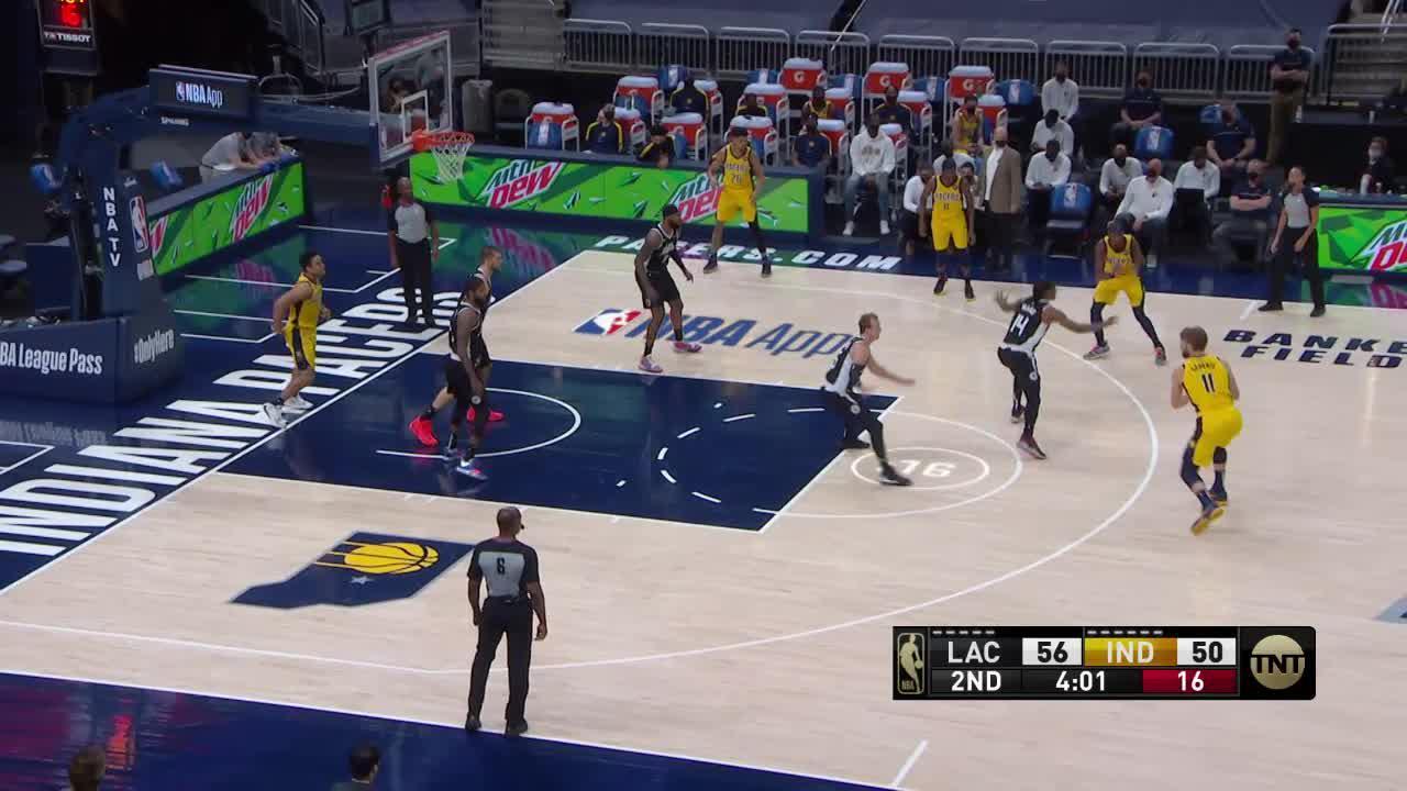 Sabonis Gets His Own Rebound
