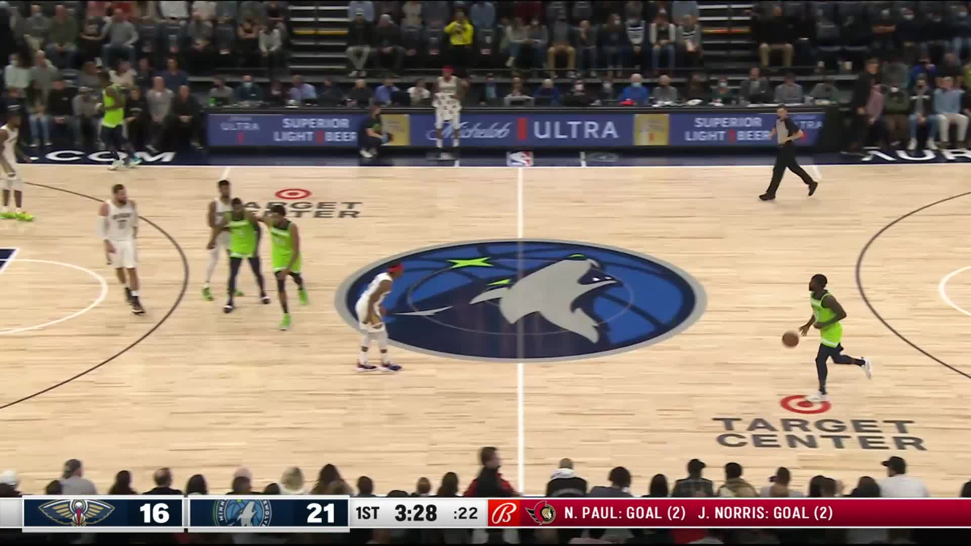 Dunk by Karl-Anthony Towns