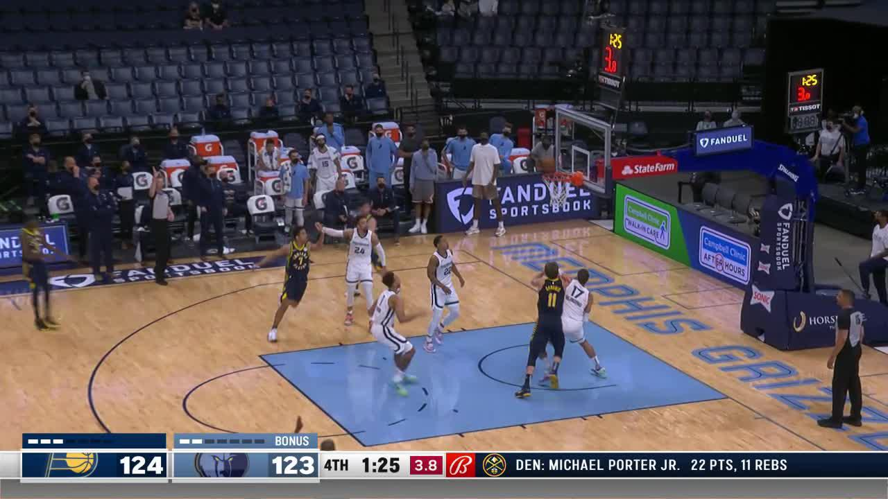 Holiday with the Strong Putback