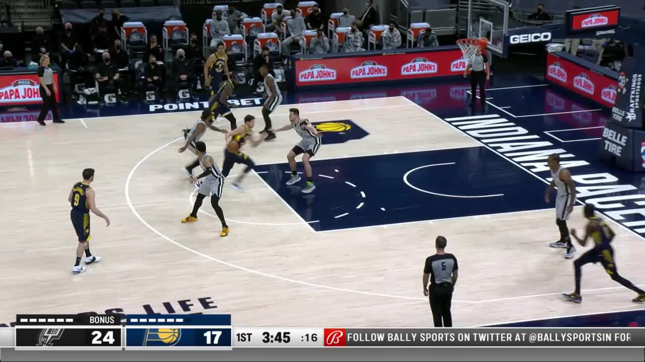 Sampson Gets the Putback