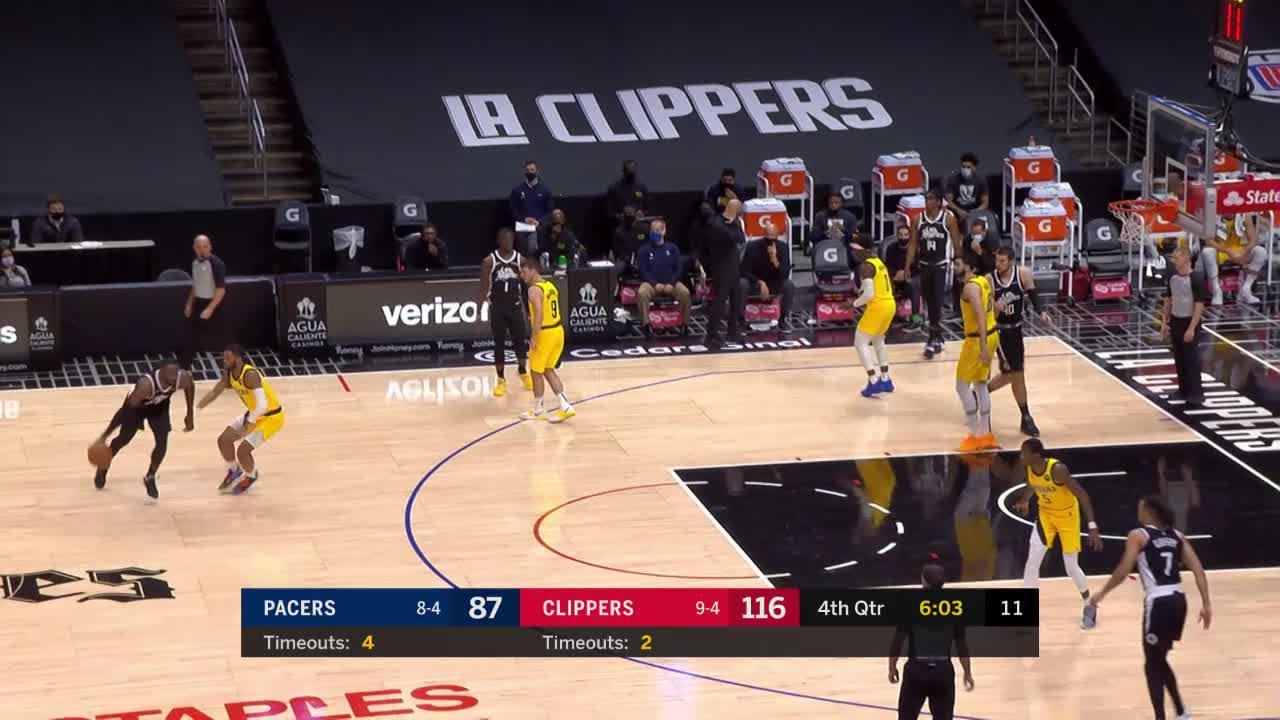Sumner Steals and Finishes Through Contact