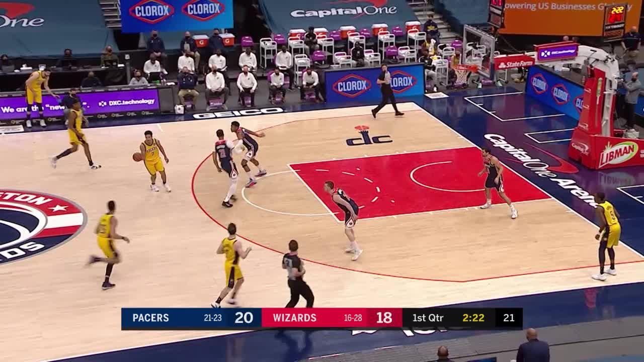 Lamb Charges the Basket
