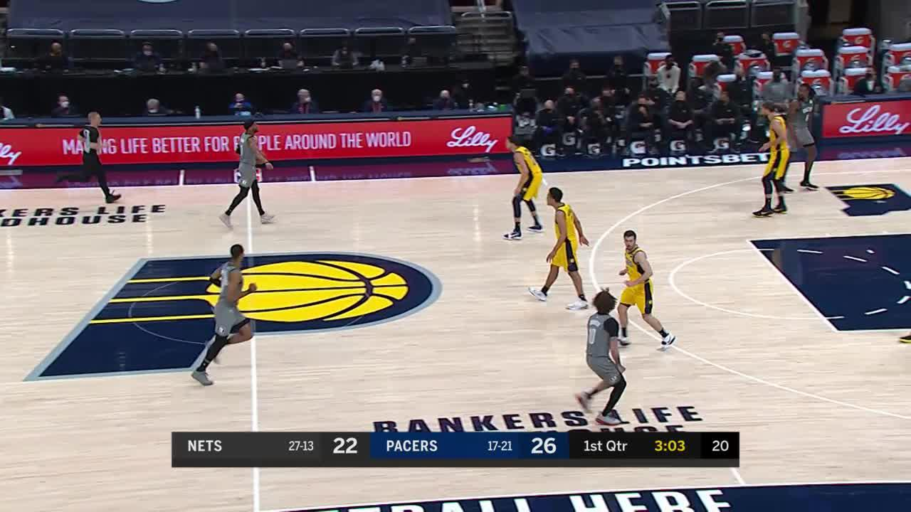 Domas Steals and Dunks