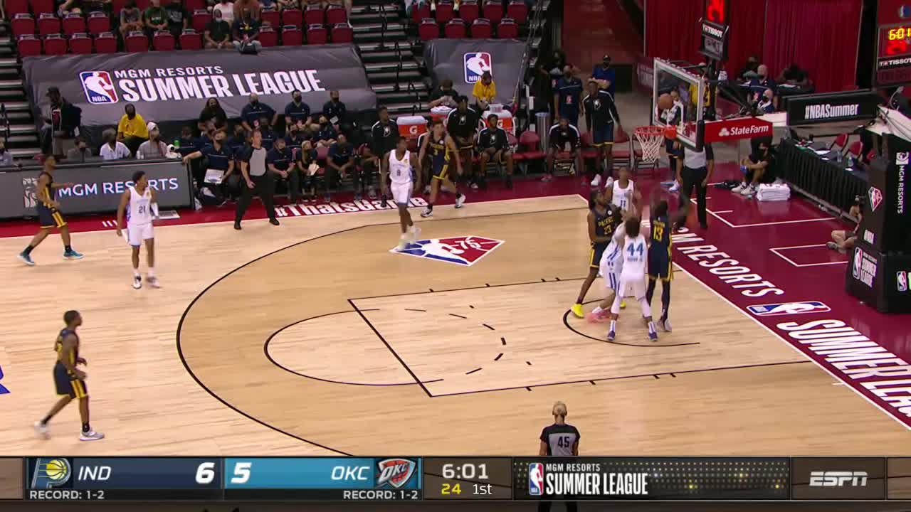 Duarte Steal and Dunk
