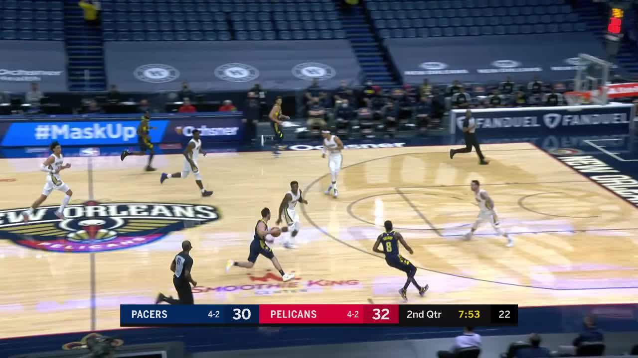Sampson Spins to the Basket