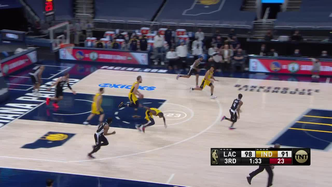 Sabonis Forces the Turnover
