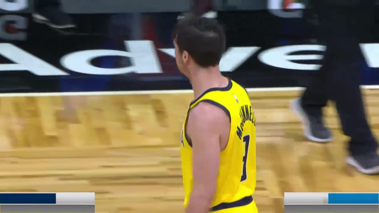 McConnell Hits the Floater at the Buzzer