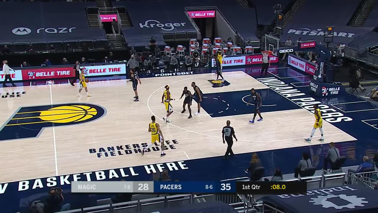 Sumner Lays it in at the Buzzer