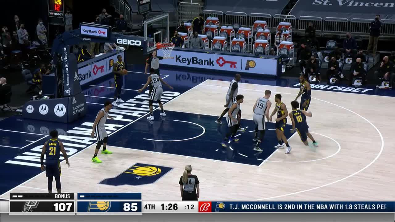 Stanley Throws It Down