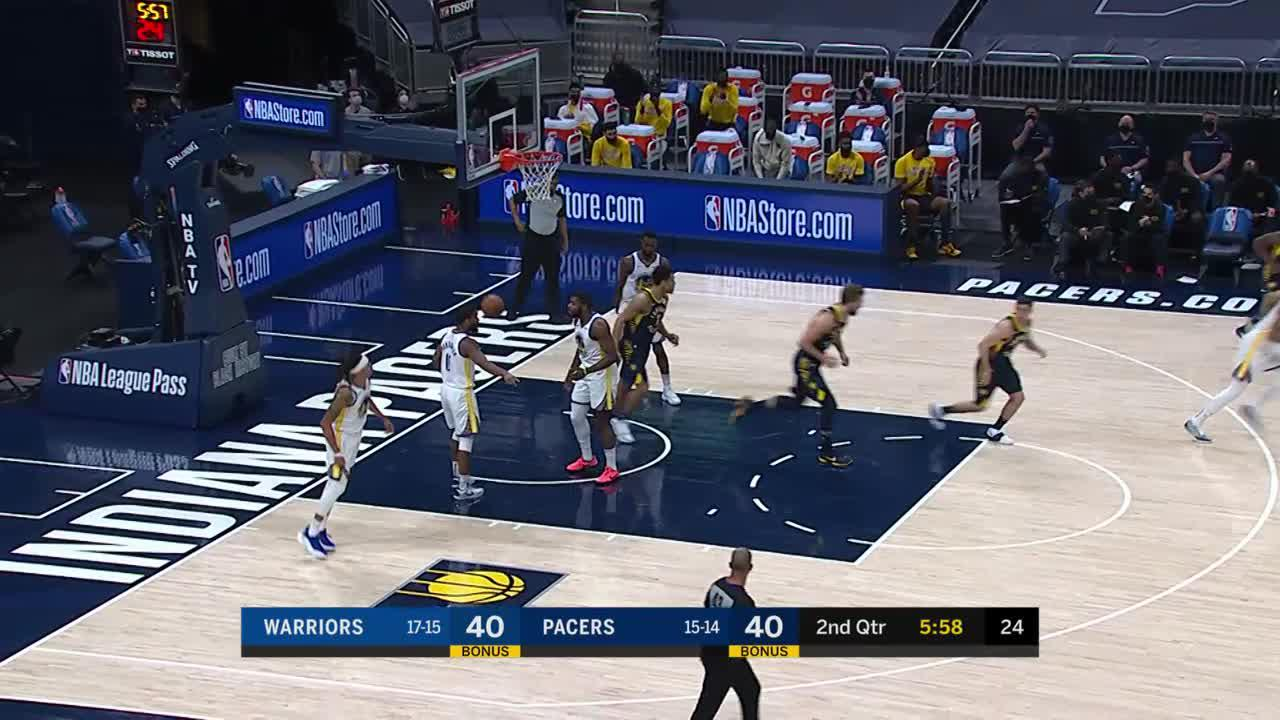 McConnell Lofts It To Sabonis