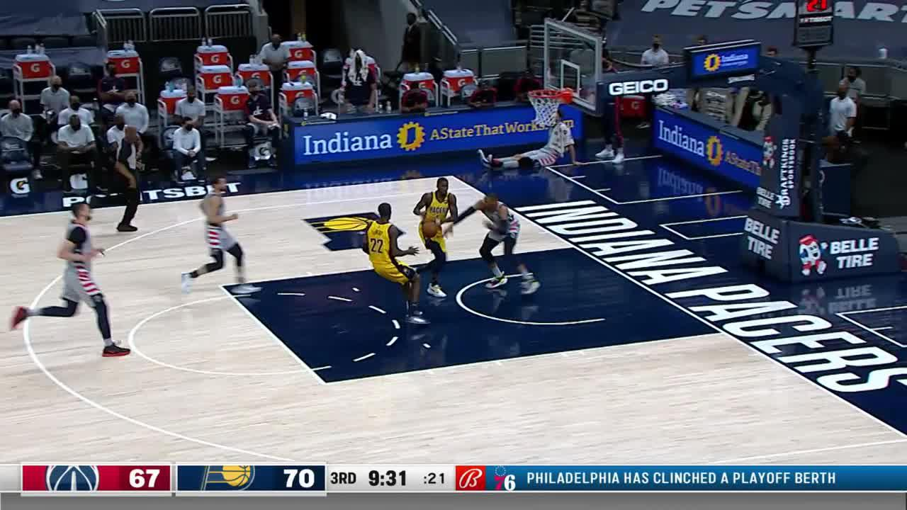 Brissett Rises Up and Throws It Down