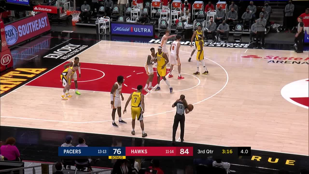 Turner Protects the Rim