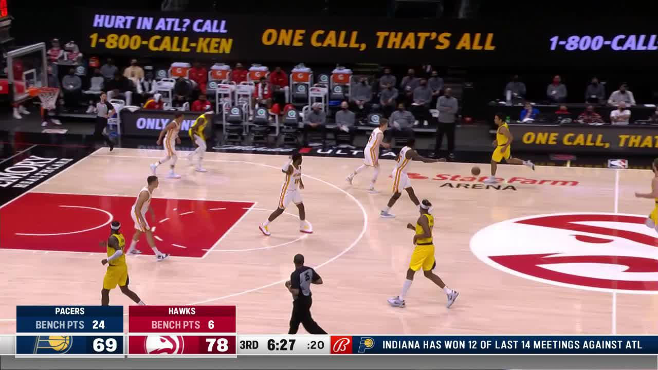 Turner Drains the Three