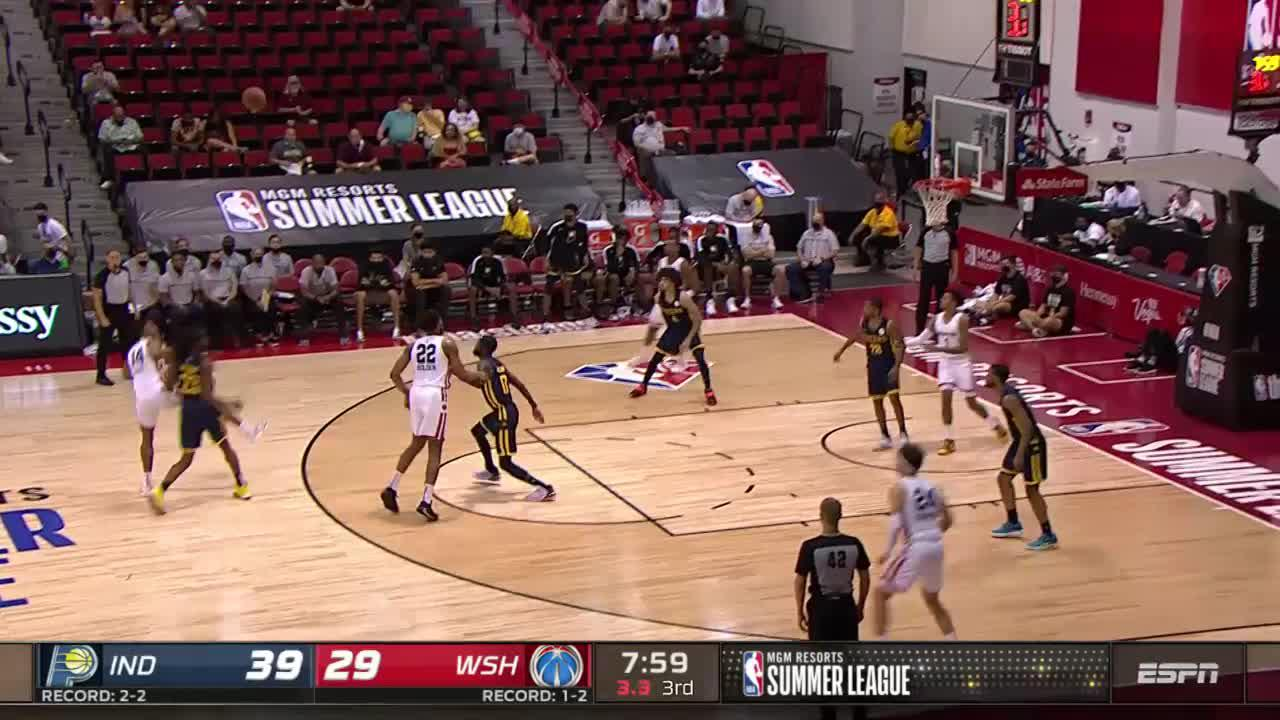 Jackson with the Block and Dunk