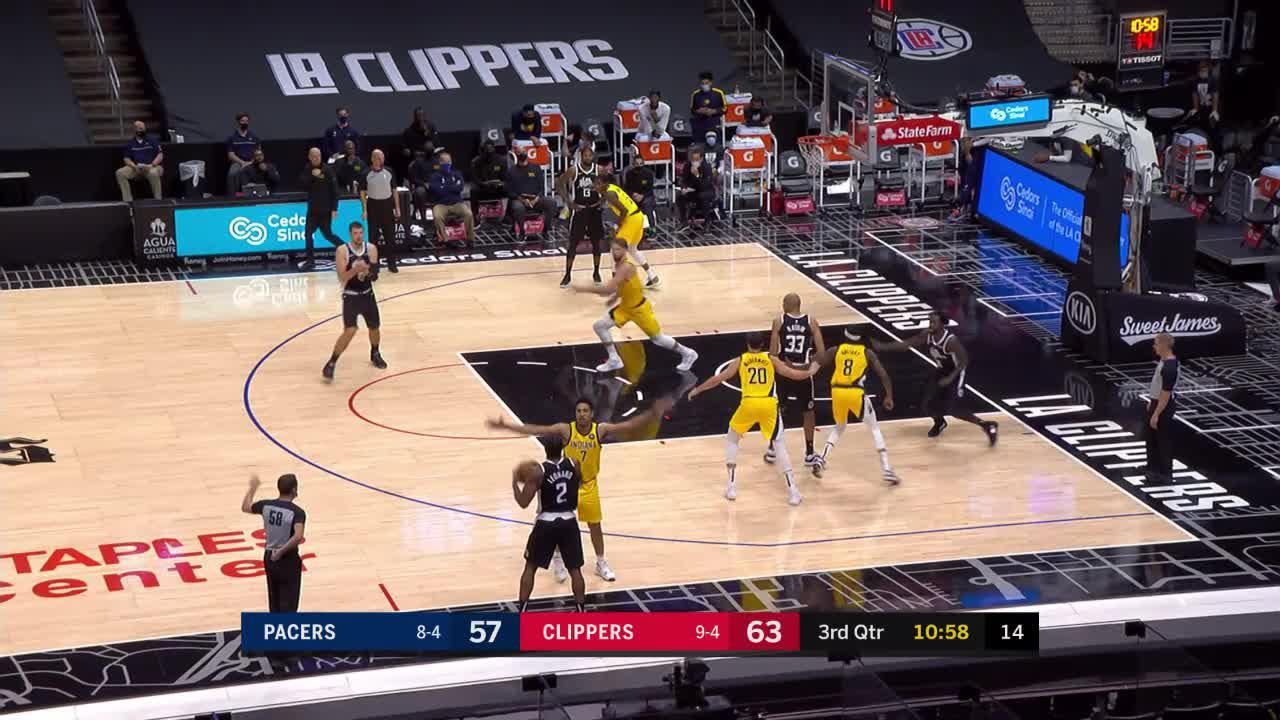 Sabonis Gets the Steal and Assist