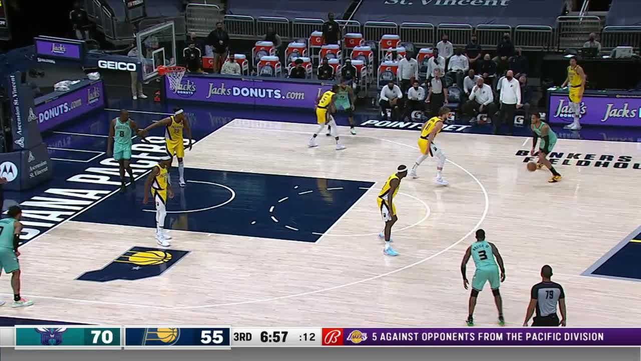 LeVert Steals and Scores