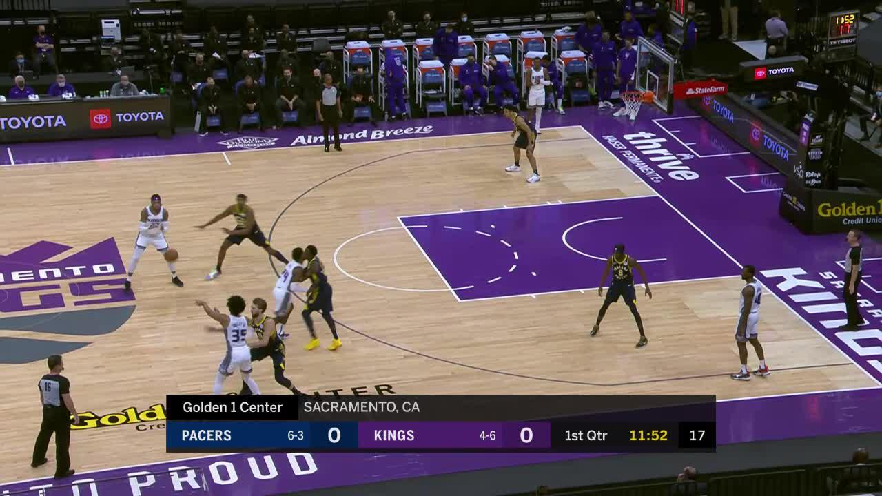 Oladipo Steal and Slam