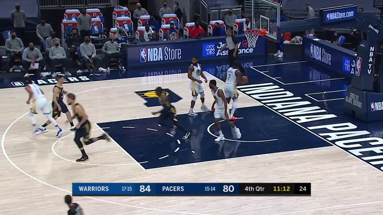 Pacers Swing It For Three