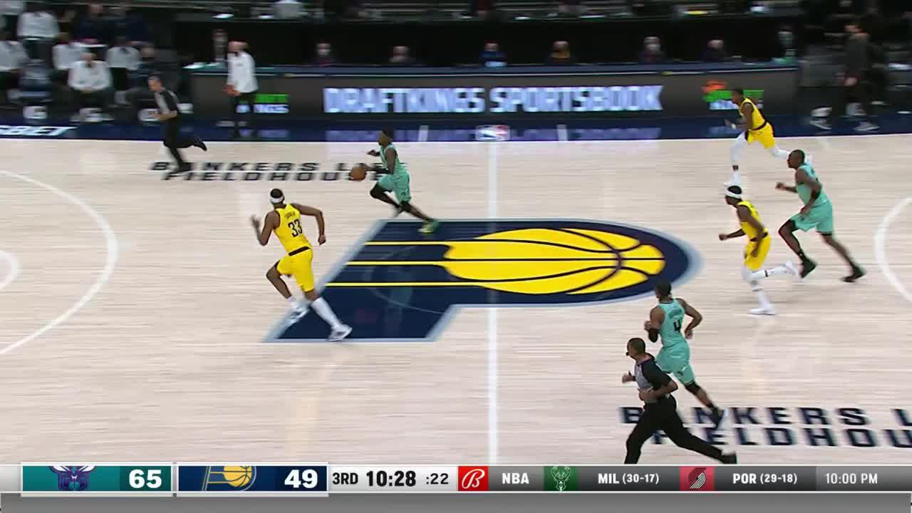 Turner Challenges the Fastbreak