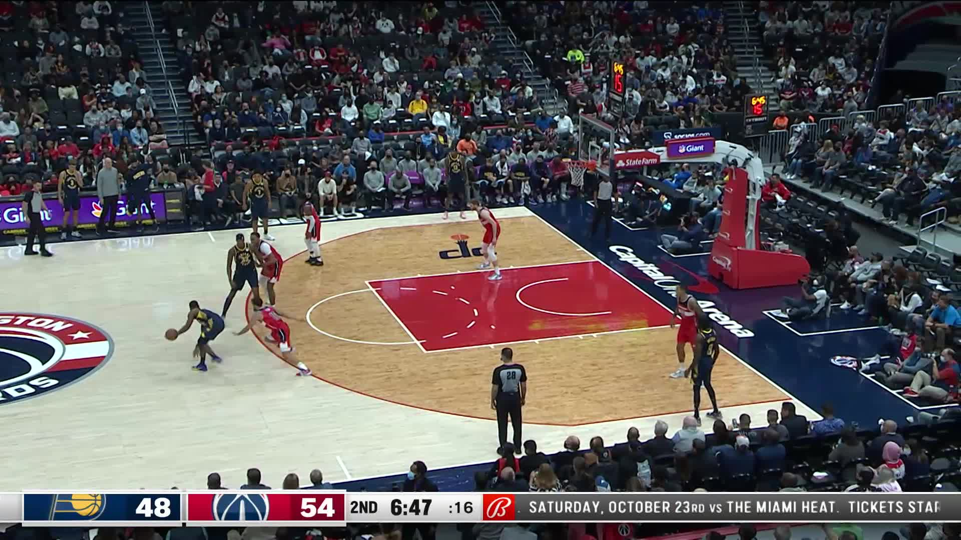 3-pointer by Myles Turner