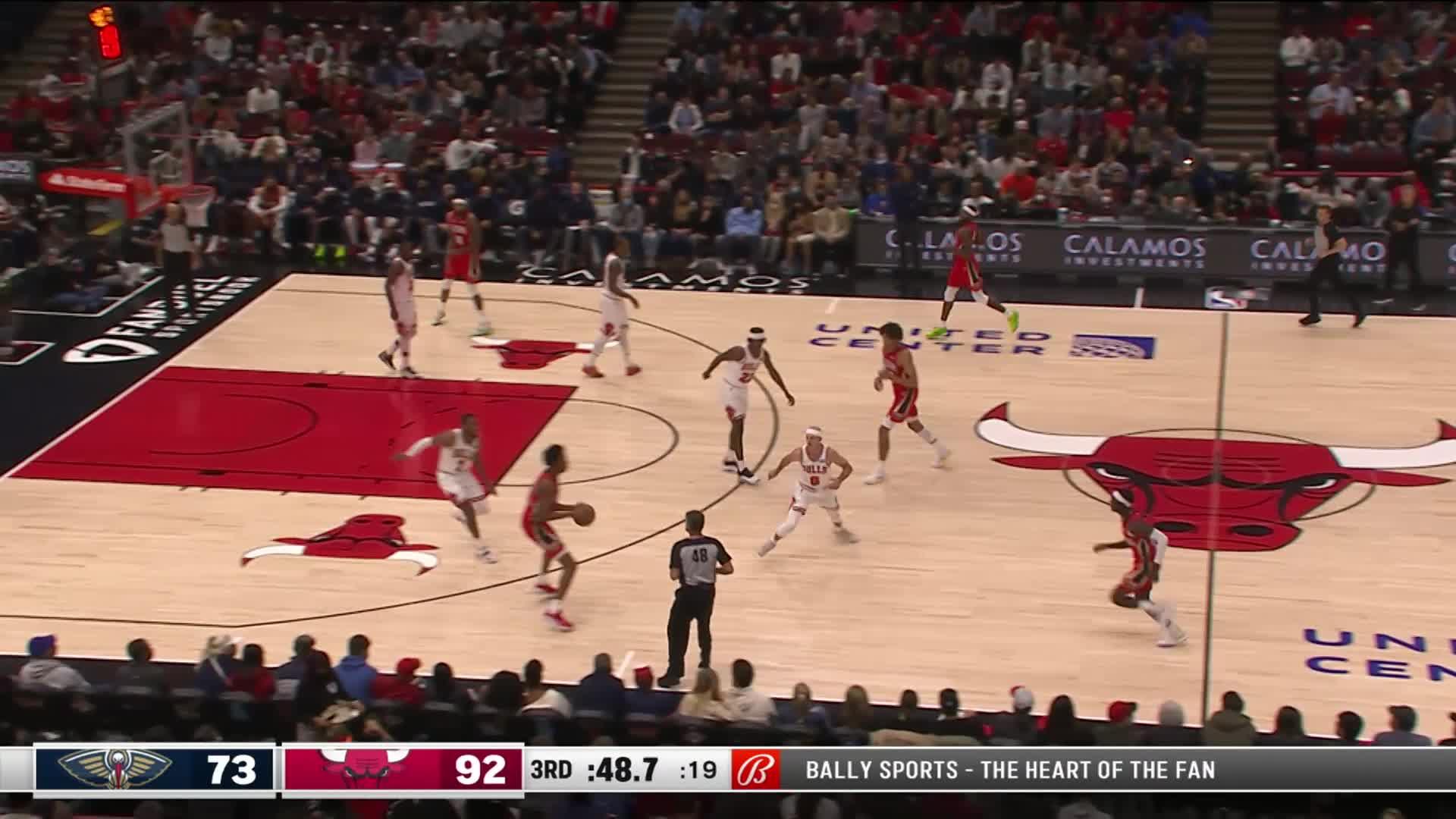 Dunk by Trey Murphy III | Pelicans at Bulls 10-22-21