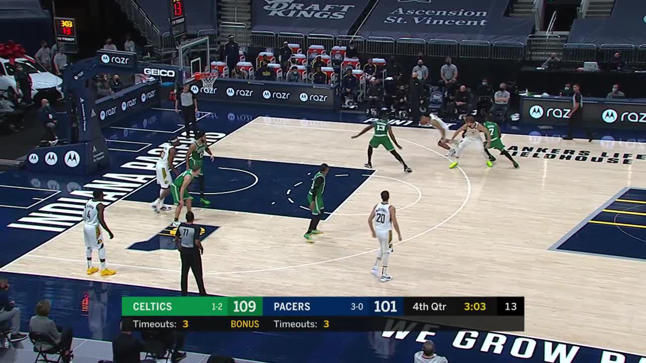 Sabonis Works the Pick and Roll