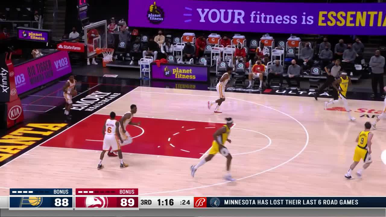 Turner Finishes With the Left Hand