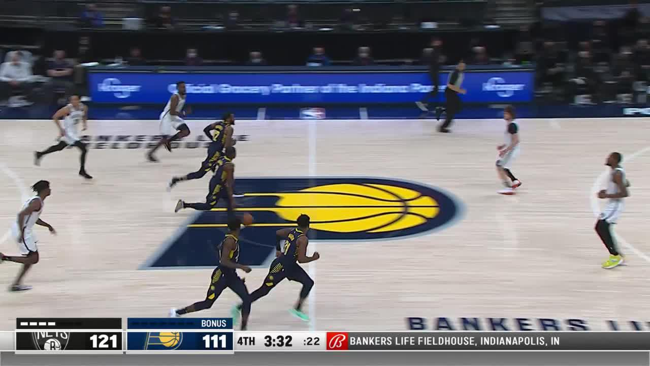 LeVert Gets Air
