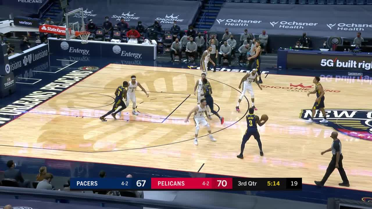 Domantas Snags the Board and Scores