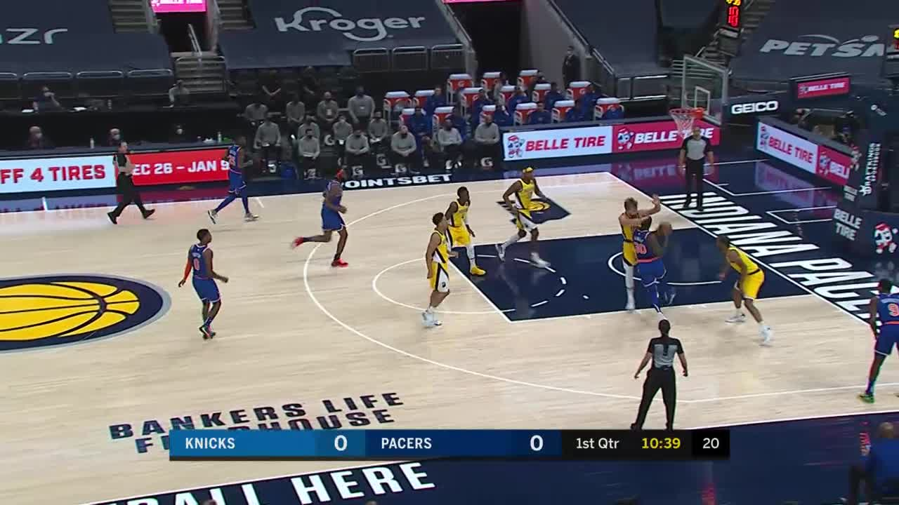 Vic Scores Our First Two Points