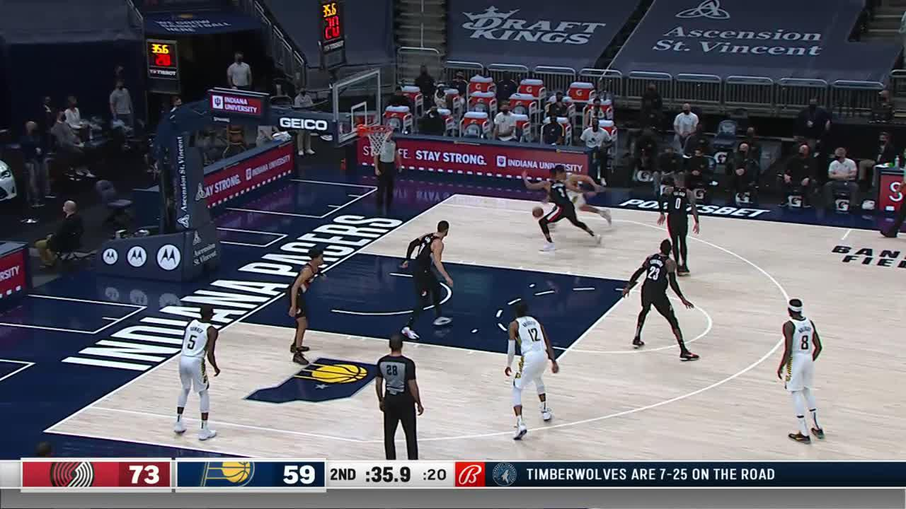 Holiday Comes Up With the Corner Three