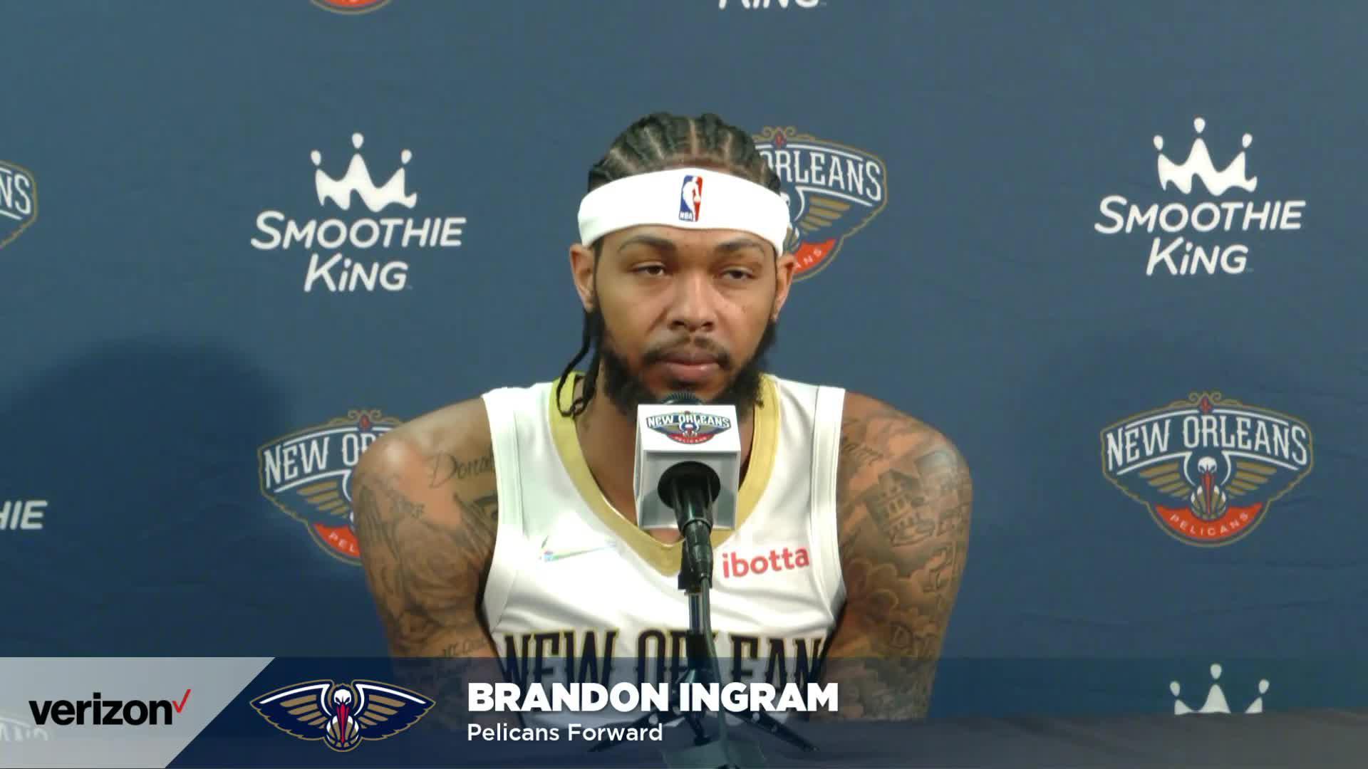 Brandon Ingram on his leadership, offseason goals | Pelicans Media Day 2021 Interviews