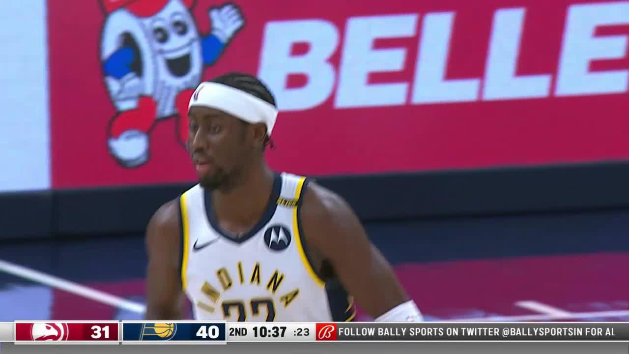 LeVert Pounds It Down