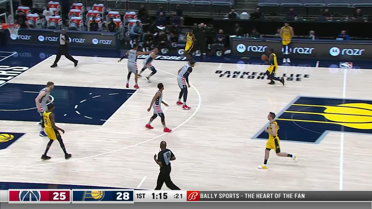 Sabonis Gets the Bounce