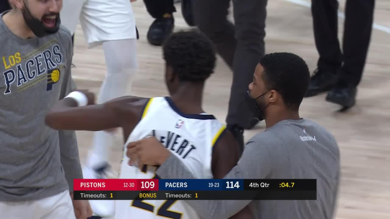 LeVert With the Clutch Three